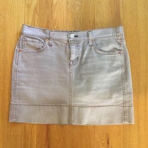 Fossil Denim Mini Pencil  Skirt Size 29